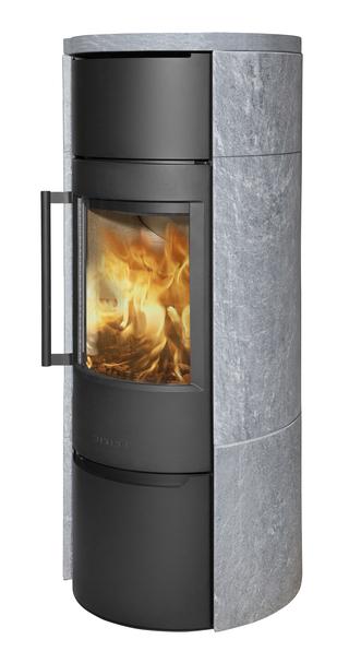 Wiking Ofen Luma 6 mit Specksteinverkleidung