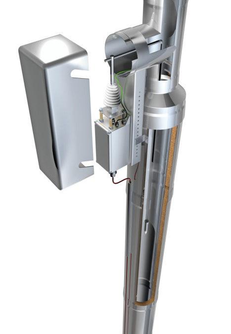 Future-Refine Elektrostatischer Partikelabscheider für Kleinholzfeuerung bis 50 kW